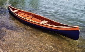 Photo of a canoe